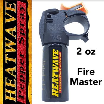 "HEATWAVE 23% OC PEPPER SPRAY ~ 2 OZ ""FIRE MASTER"""