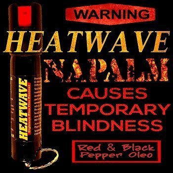 ~ FACT: 90% of Pepper Spray Claims are… well… FALSE!…