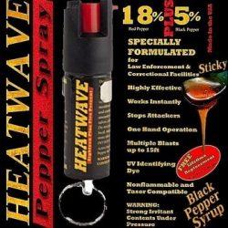 HEATWAVE PEPPER SPRAY ~ 1/2 OZ w/ KEY RING