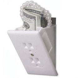 HOUSEHOLD DIVERSION SAFE - WALL OUTLET