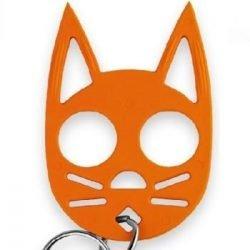 Halloween 2 Pack Wild Kat Key-Chains - Black & Orange