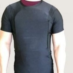 Safe-T-Shirt (Ballistic Plate Carrier w/Holster) 2XL