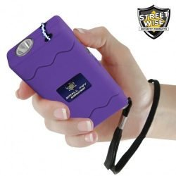 Small Fry 8,800,000* Stun Gun Flashlight Purple