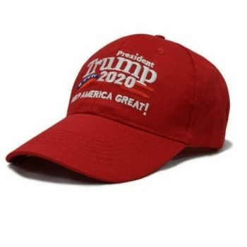 TRUMP Keep America Great - American Flag Adjustable Baseball Hat USA Cap