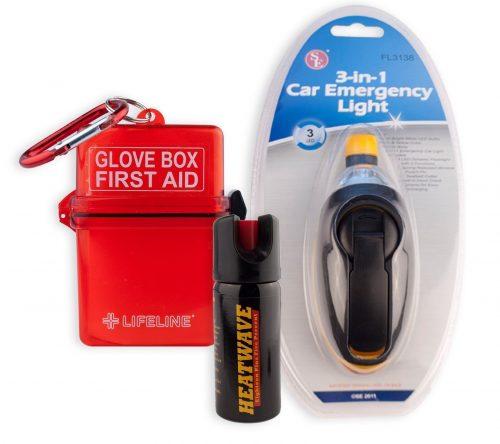 THE CAR SAFETY KIT by HEATWAVE 23% OC Pepper Spray