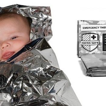QUITE EZ Mylar / Rescue / Signal Blanket(s) - Emergency Numerous Uses