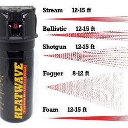 HEATWAVE NAPALM ~ 2 oz Flip-Top Pepper Sprays - Ballistic