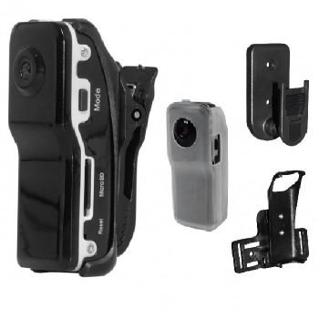 """Mini DVR ~ """"Spy"""" Thumb-Size w/ Voice Activation (8 GB Micro SD Card Included)"""