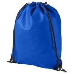 """Backpack/Bag w/ Draw String & Stopper (16.5"""" x 13.38"""") ~ 20 lbs Capacity - Blue"""