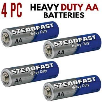 Heavy Duty AA Batteries - 4 Pack
