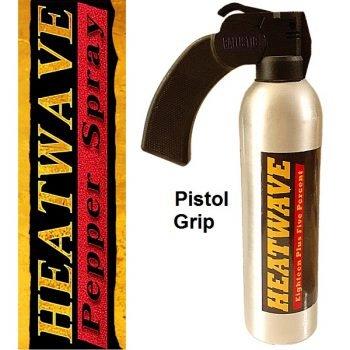 HEATWAVE 23% OC ~ Riot Control 24 oz ~ Pistol Grip