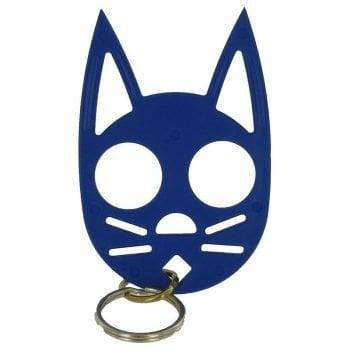 Wild Kat Keychain-Dark Blue