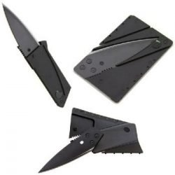 Ultra-Light Credit Card Folding Stainless Steel Knife ~ Micro Knife
