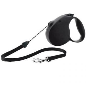 Retractable Dog Leash ~ Black
