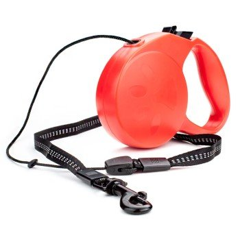 Retractable Dog Leash ~ Red
