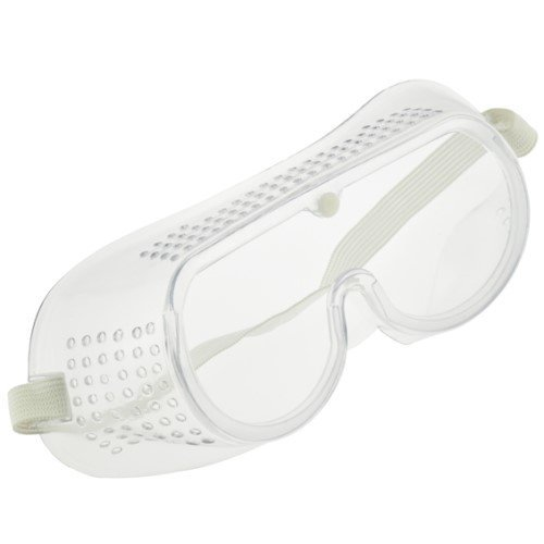 Safety Goggles w/Adjustable Elastic Headband + Built-in Vents