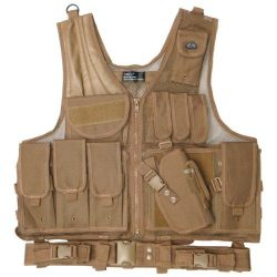 15 Pouch / Holster ~ Tactical Vest - Coyote