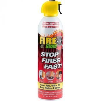 FIRE GONE 16OZ FIRE EXTINGUISHER CAN