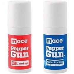 MACE-PEPPER GUN H20/OC REFILL PACK