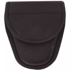 NYLON HOLSTER ~ DOUBLE HANDCUFF CARRIER CASE