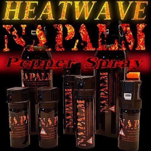 HEATWAVE 4 OZ. FLIP-TOP PEPPER SPRAY - FOGGER