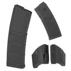 AR15 / M4 - 30 Round Military Grade Polymer MOD II Stippled Magazine ~ MFT (Black) ~ .223 Rem / 5.56x45 / 300 AAC